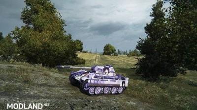 [BCSF] PzKpfw V Panther [LOVELY×CATION 2] - [Izumi Wakoto] 스킨 0.0 [1.5.0.4], 4 photo